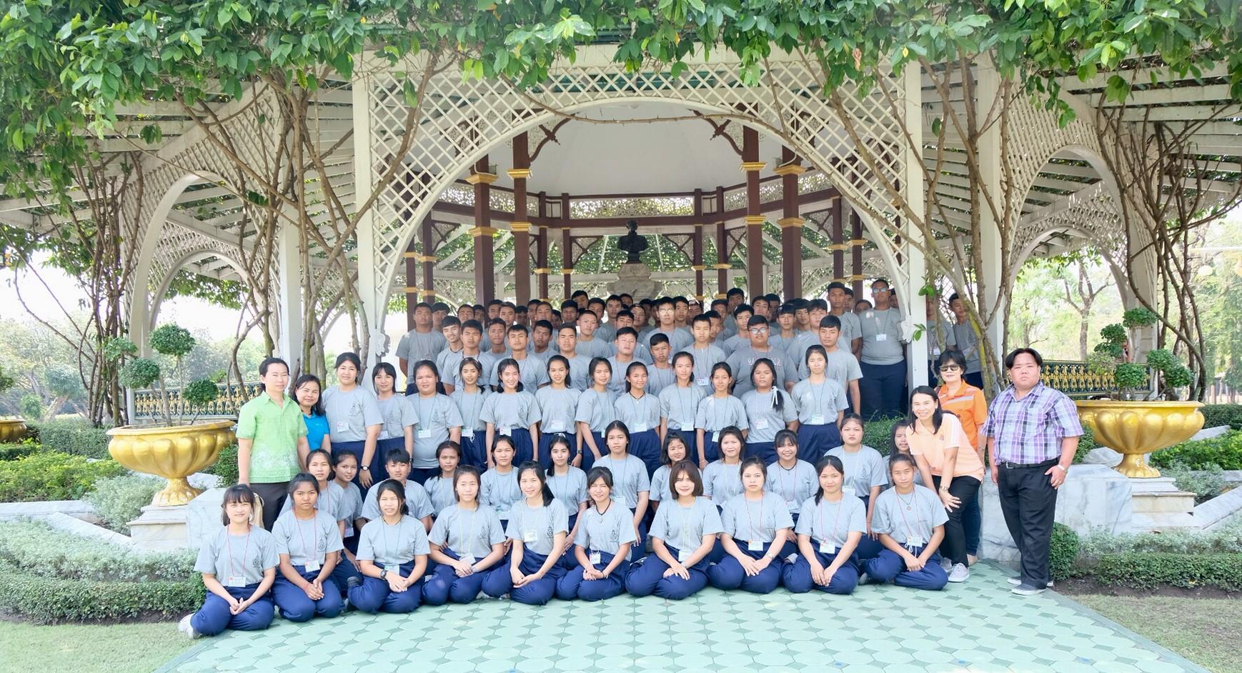 โครงการค่ายเยาวชนส่งเสริมคุณธรรมจริยธรรมนักเรียน
